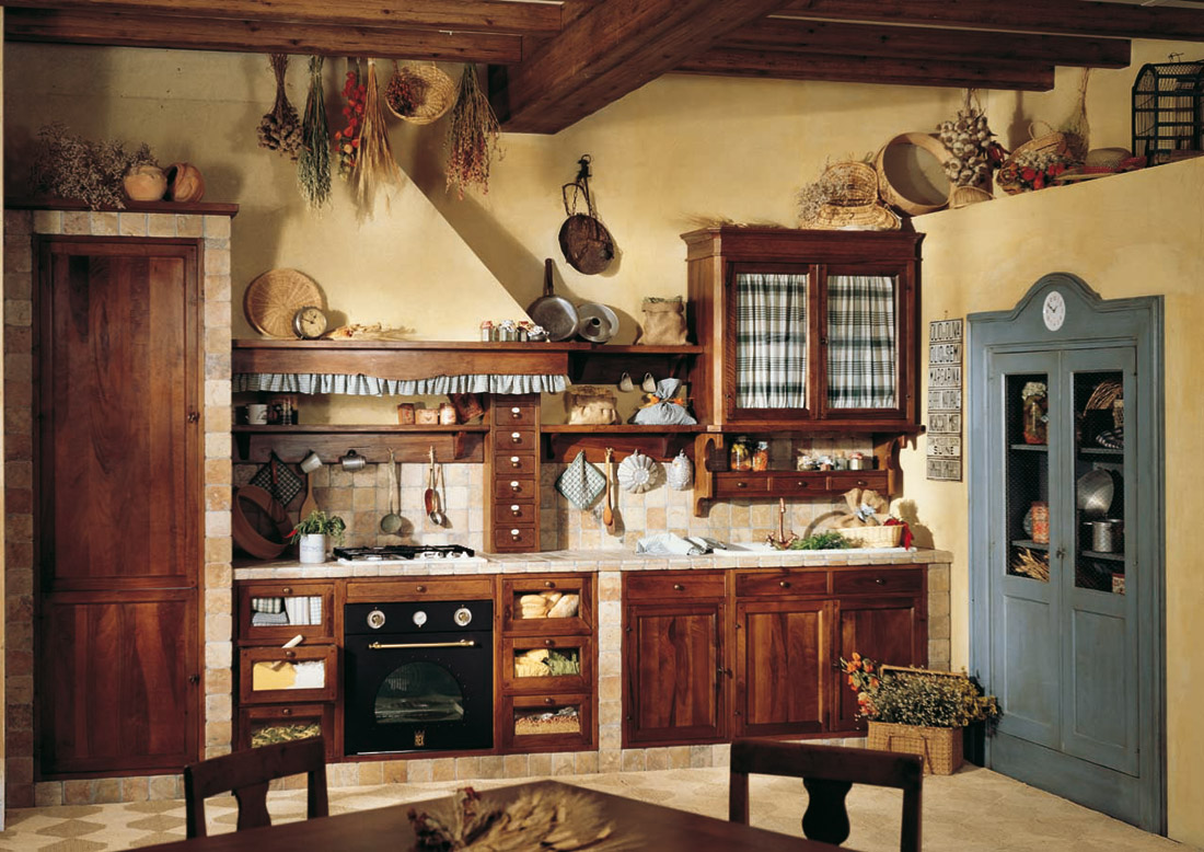 Come Decorare Una Cucina Rustica come arredare una casa di campagna | facileristrutturare.it