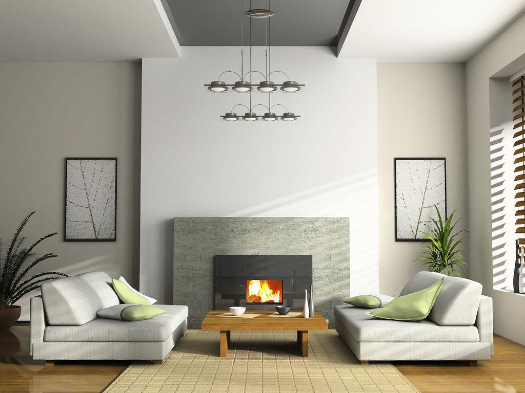 salone minimalista