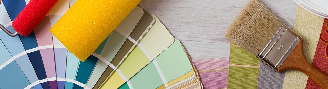 Pareti colorate: le tinte più adatte per pitturare casa