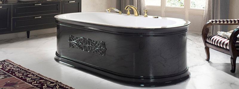 vasca bagno in legno