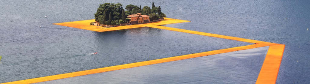The Floating Piers: la passerella galleggiante sul Lago Iseo