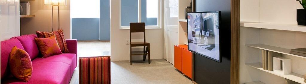 Micro appartamento trasformabile di 30 mq