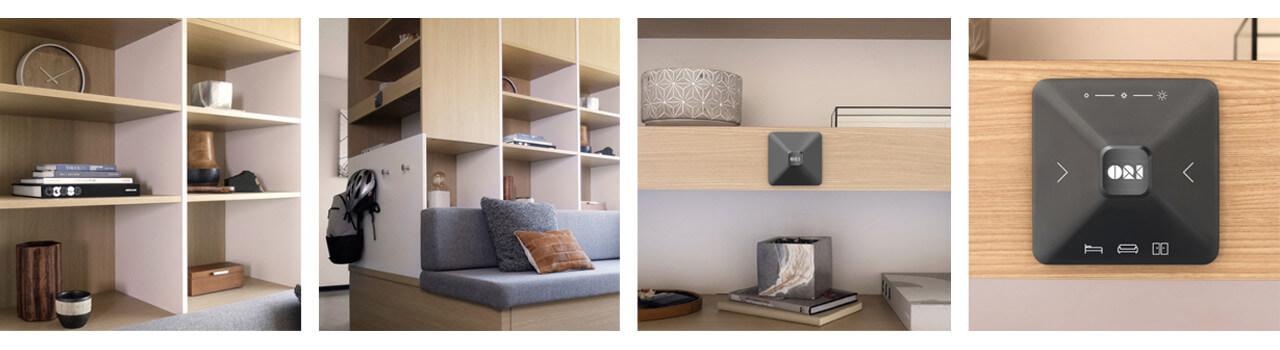 Ori: sistema di arredi trasformabili per mini appartamenti
