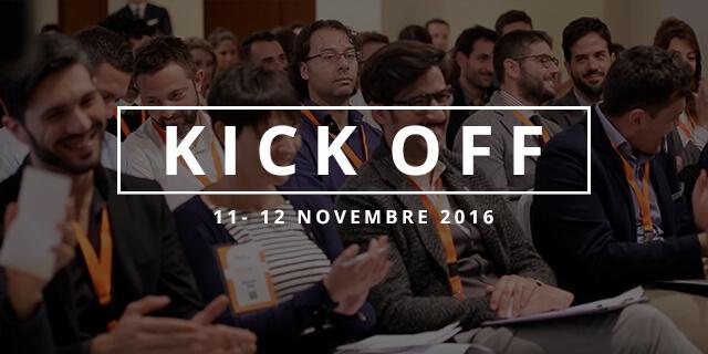 Kick Off Novembre 2016
