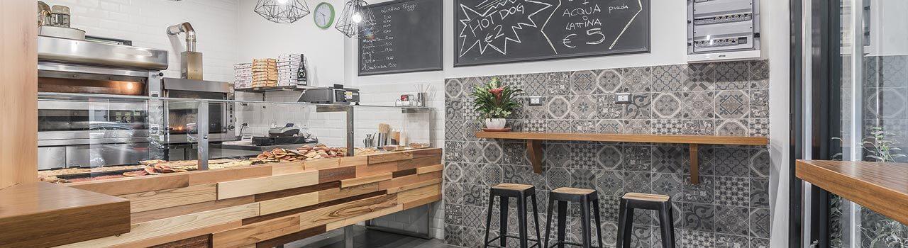 Ristrutturazione pizzeria Roma, Casal Bertone