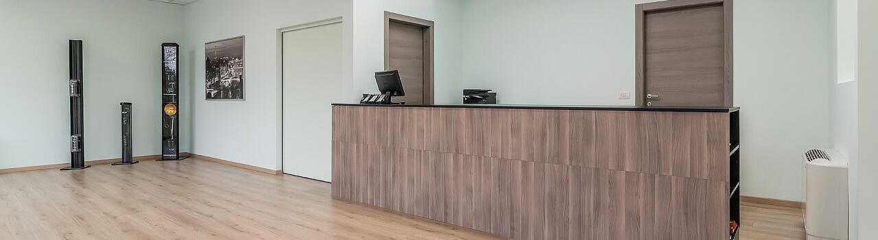 Ristrutturazione uffici Bologna, Lame