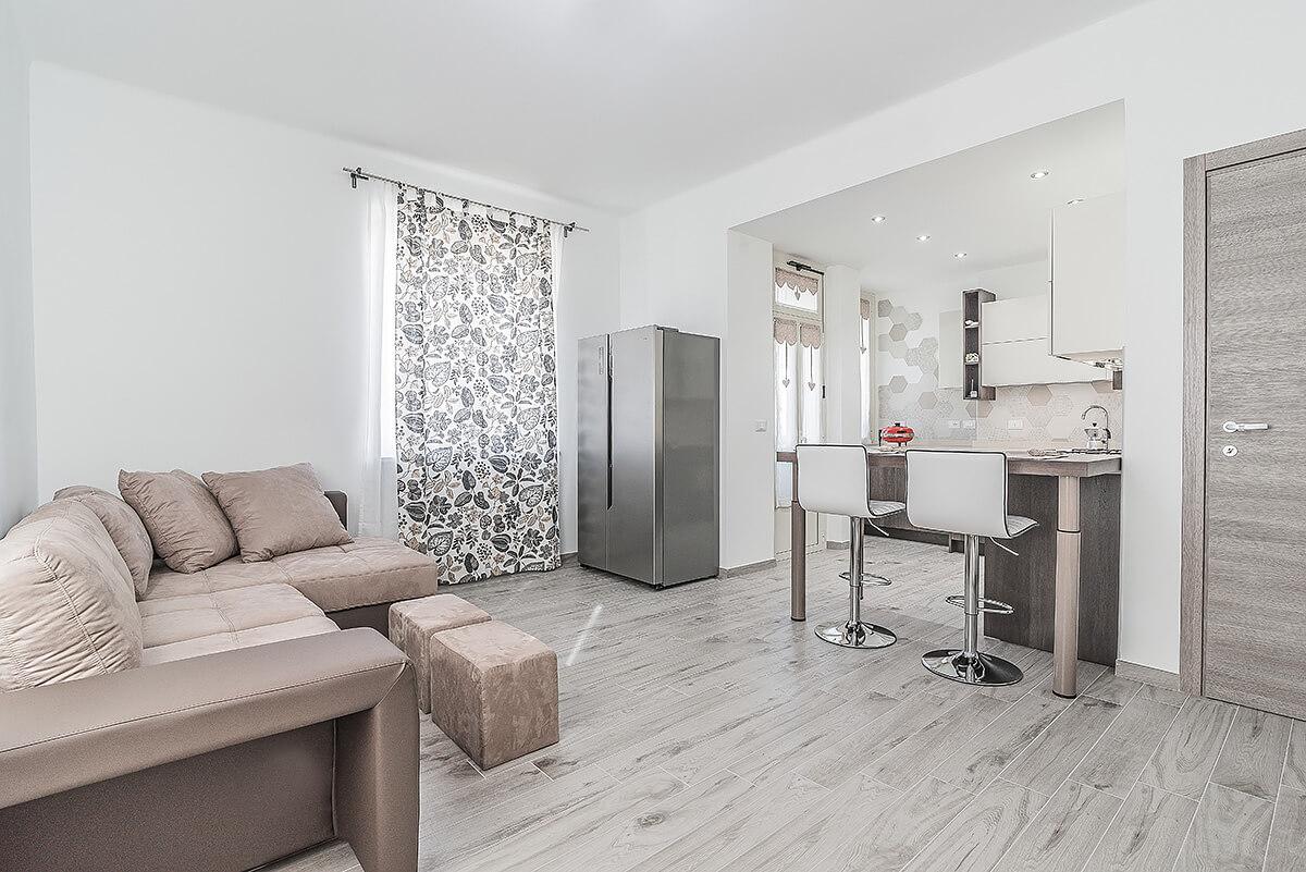 Arredare Casa 65 Mq ristrutturazione appartamento a torino, zona barriera di milano