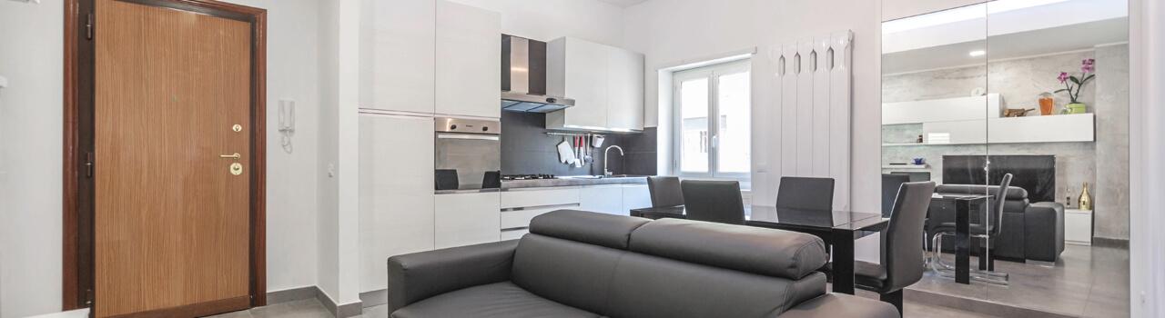 Ristrutturazione appartamento di 67 mq a Roma, Centocelle