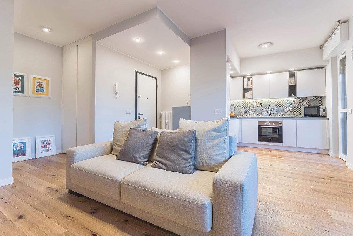 Arredare Casa 65 Mq ristrutturazione appartamento a milano, zona cernusco sul