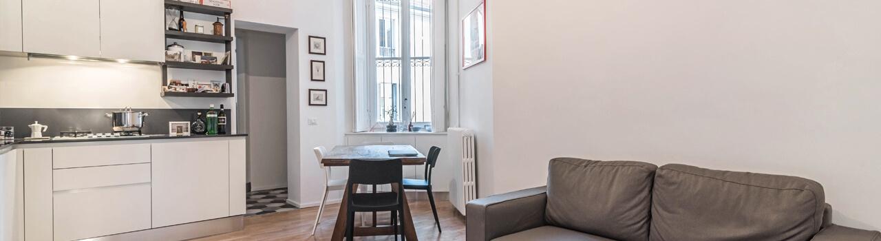 Ristrutturazione appartamento di 47 mq a Milano, Isola