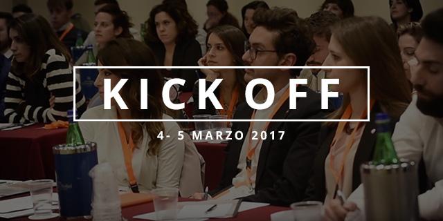 Kick Off Marzo 2017