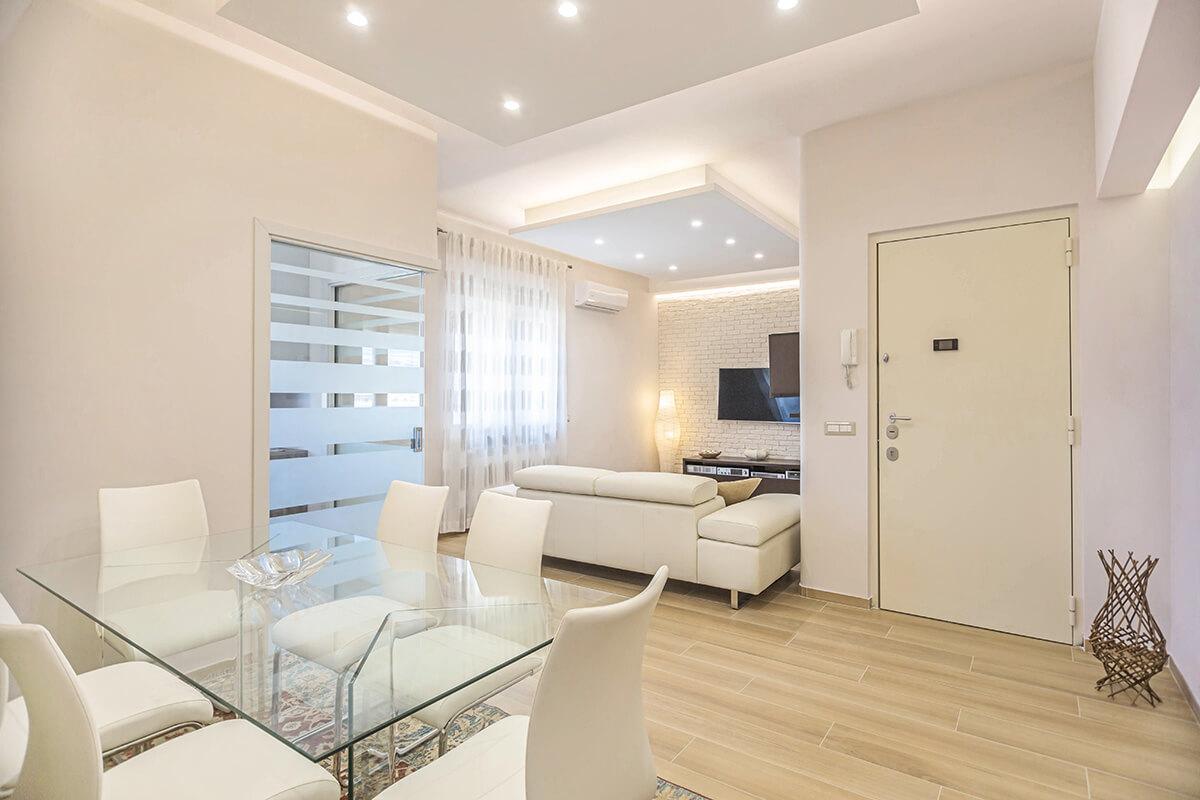 Ristrutturazione appartamento 80 mq napoli facile for Progetto ristrutturazione appartamento