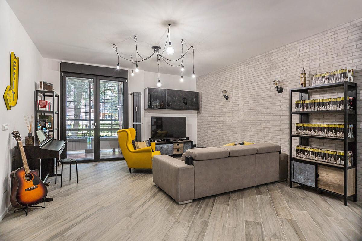 Progetto Appartamento 85 Mq ristrutturazione appartamento 85 mq a roma, casilina