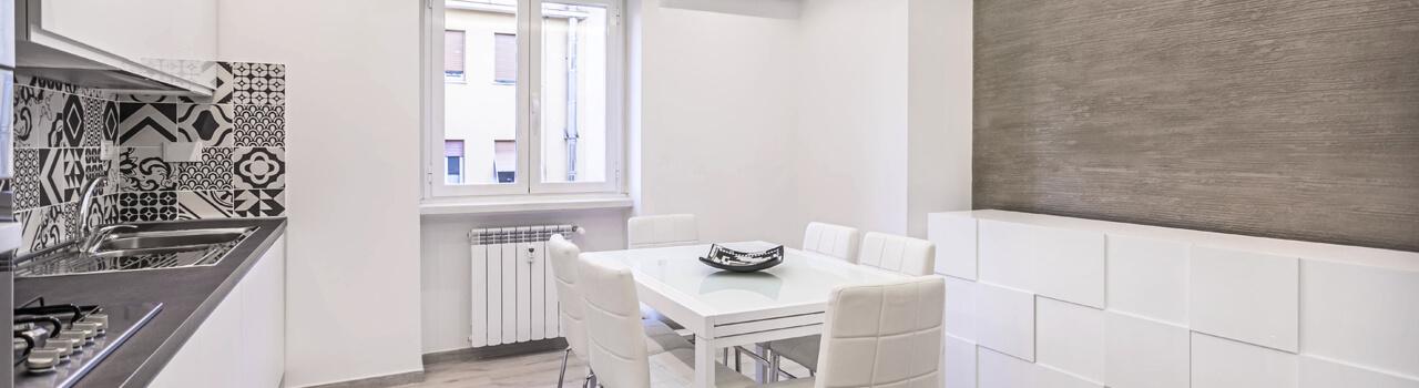 Ristrutturazione appartamento di 65 mq a Roma, Cipro