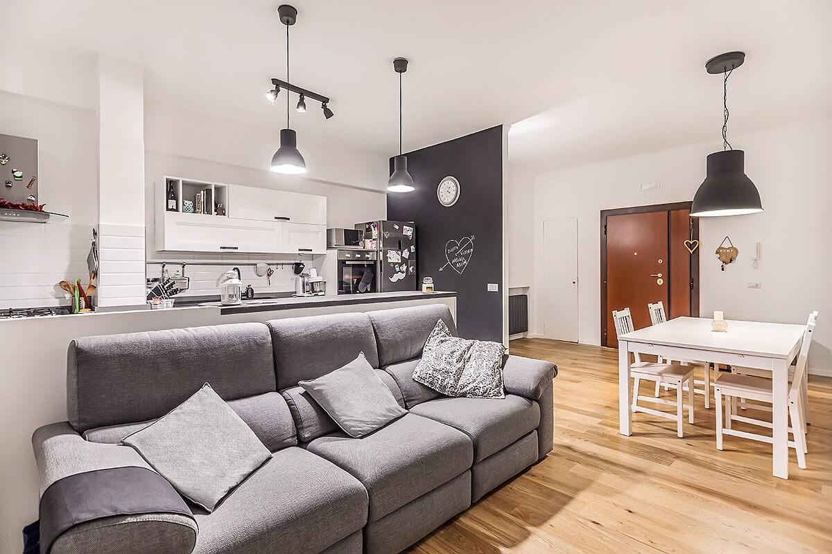 Progetto Appartamento 85 Mq ristrutturazione appartamento di 85 mq a roma, bravetta