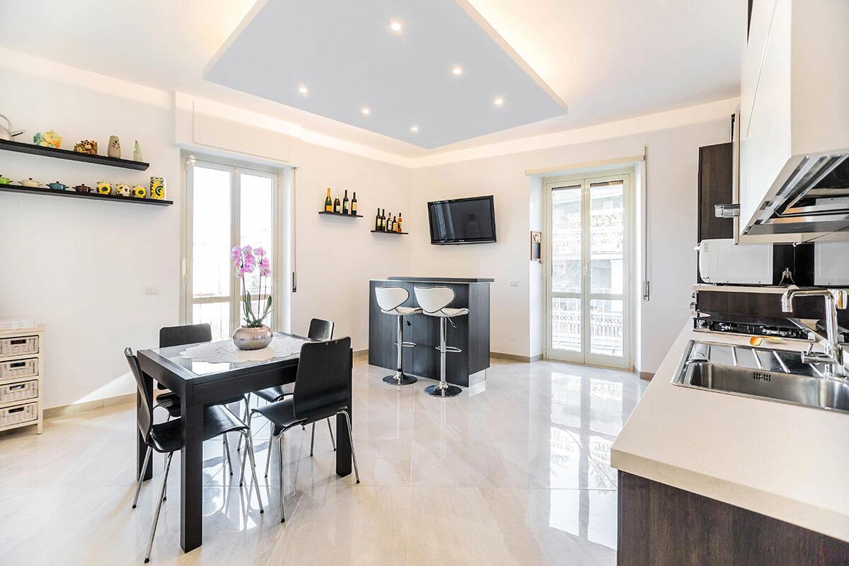 Ristrutturazione appartamento di 100 mq a roma appio for Ristrutturare appartamento 75 mq