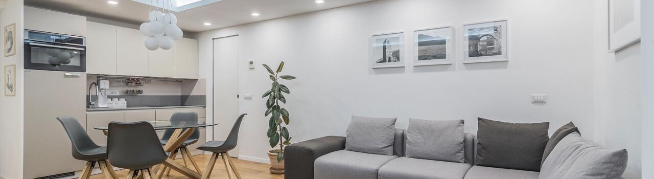 Ristrutturazione appartamento di 48 mq a Milano, Corso di Porta Vittoria