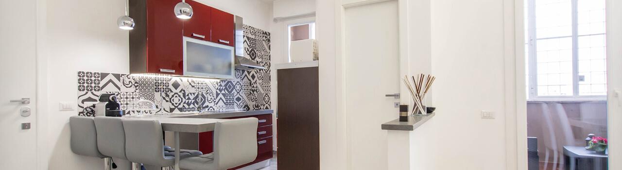 Ristrutturazione appartamento di 60 mq a Roma, Eur