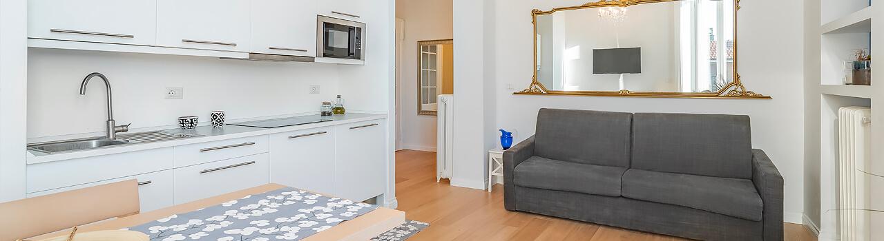 Ristrutturazione appartamento di 35 mq a Milano, Viale Montenero