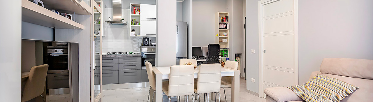 Ristrutturazione appartamento di 70 mq a Roma, Torre Maura