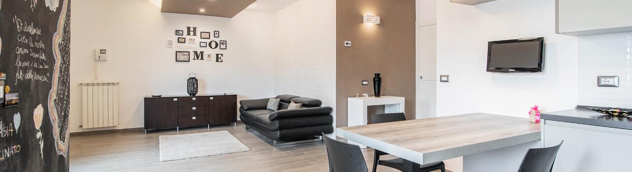 Ristrutturazione appartamento di 88 mq a Latina Scalo