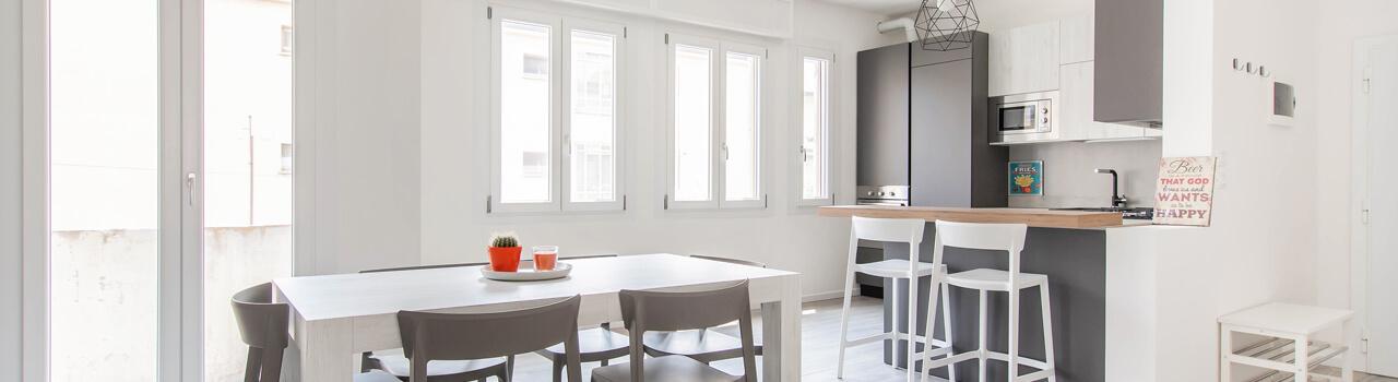 Ristrutturazione appartamento di 80 mq a Padova
