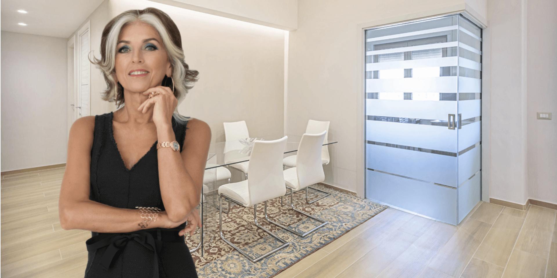 Come Pitturare Le Pareti Di Una Scala Interna pareti, pavimenti e scale in vetro: i consigli di paola