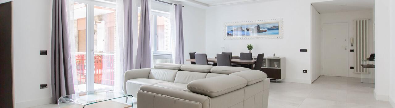 Ristrutturazione appartamento di 127 mq a Napoli, Colli Aminei