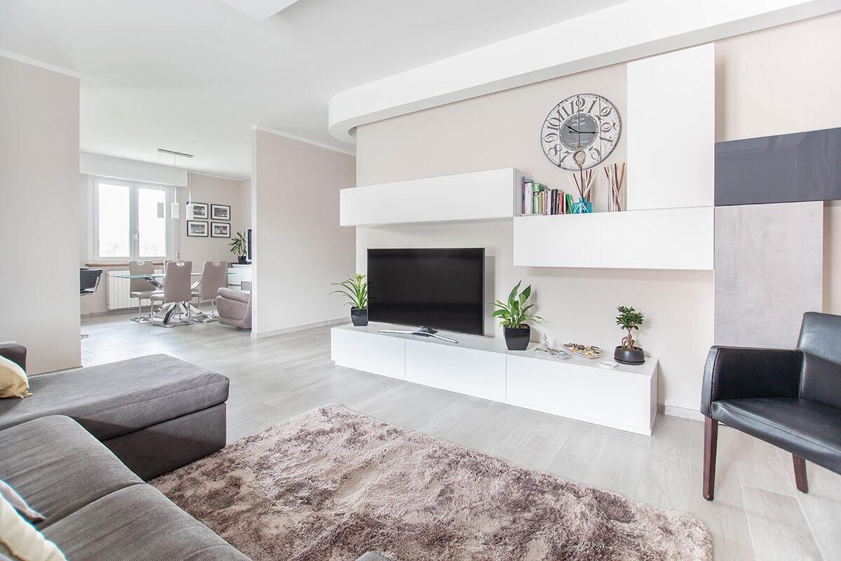 Ristrutturazione appartamento di 100 mq a bariano bergamo for Ristrutturare appartamento 75 mq