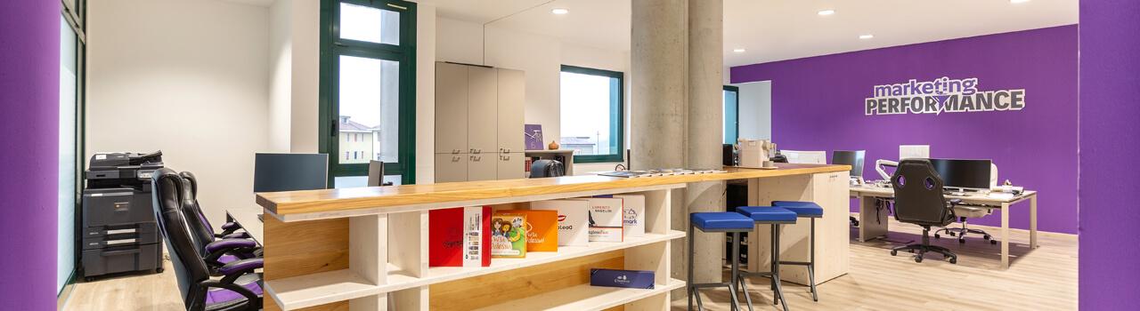 Ristrutturazione ufficio di 125 mq a Padova, quartiere Mandria
