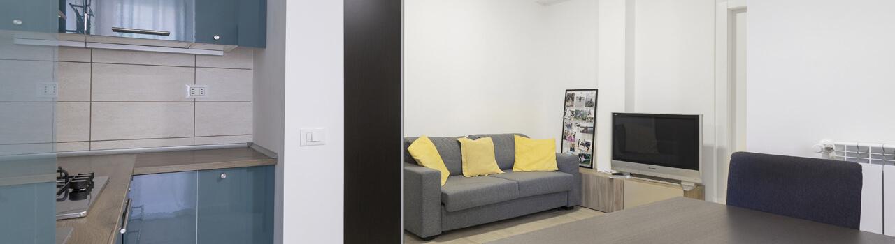 Ristrutturazione appartamento di 40 mq a Roma, Alessandrino