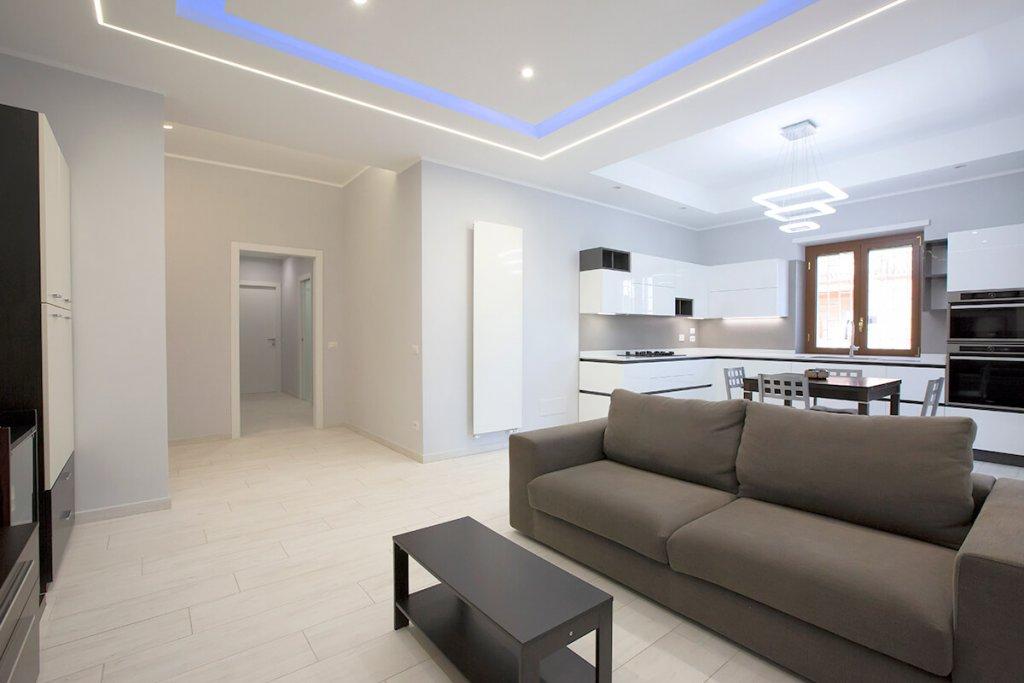 Termosifoni da arredamento in soggiorno moderna | FacileRistrutturare