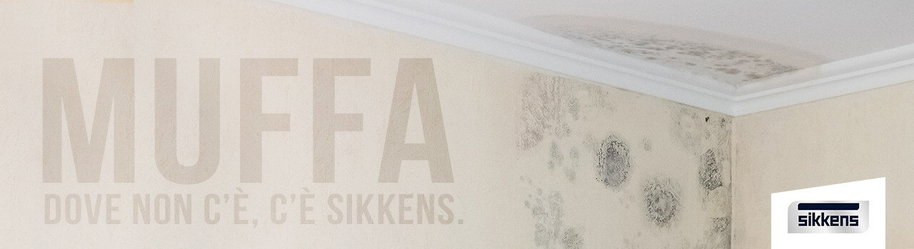 Muffa: dove non c'è, c'è Sikkens