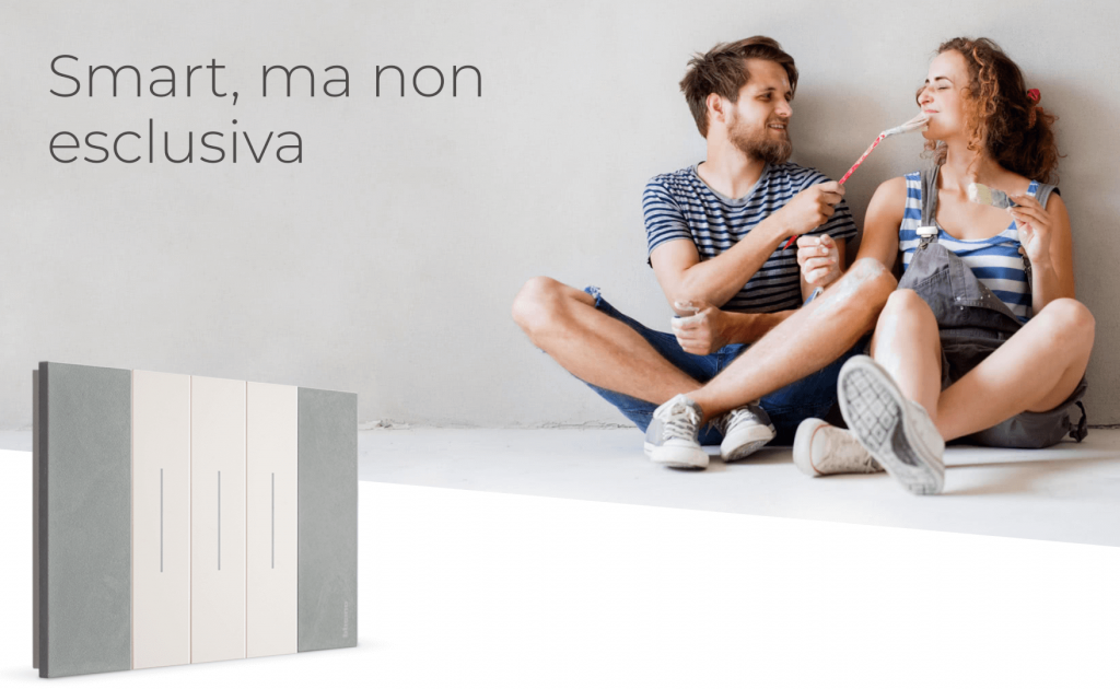 Casa smart con BTicino e FacileRistrutturare.it