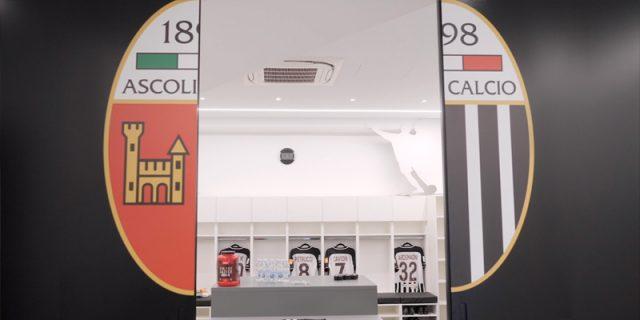 Progetto di ristrutturazione degli spoglòiatoi dell'Ascoli Calcio