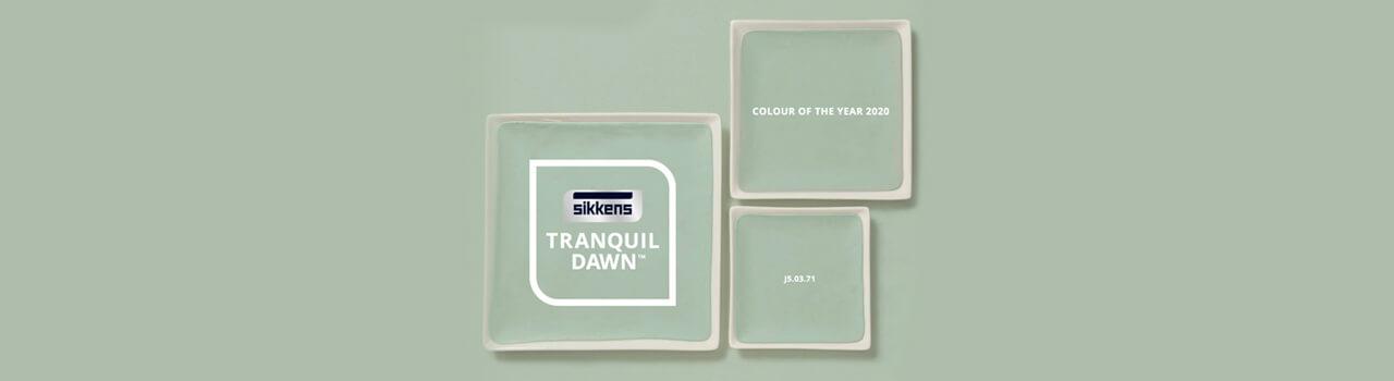A casa con stile: Tranquil Dawn, il colore del 2020 di Sikkens.