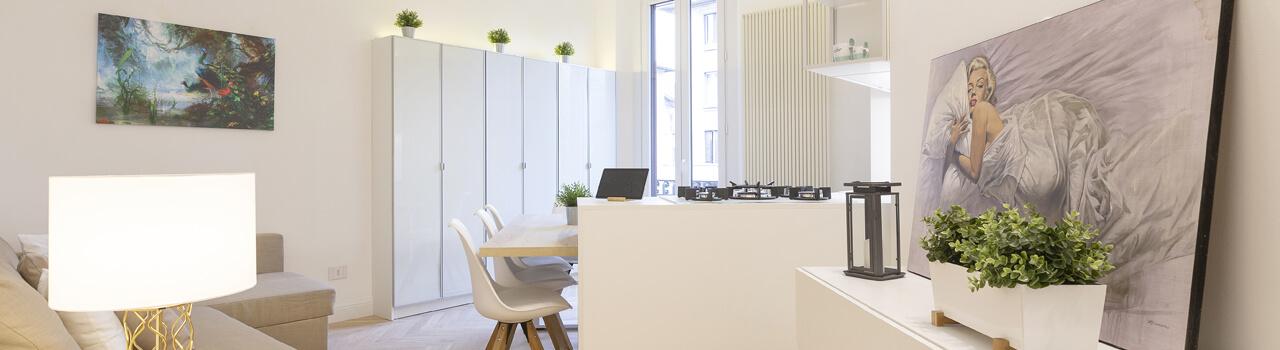 Ristrutturazione dell'appartamento di Diletta Leotta a Milano