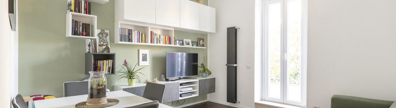 Ristrutturazione appartamento di 50 mq a Roma, Battistini