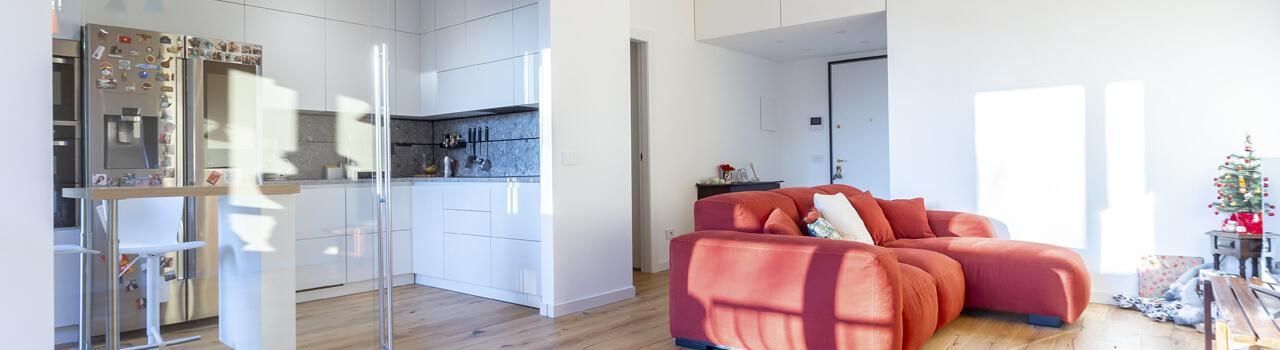 Ristrutturazione dell'appartamento di Camihawke a Monza