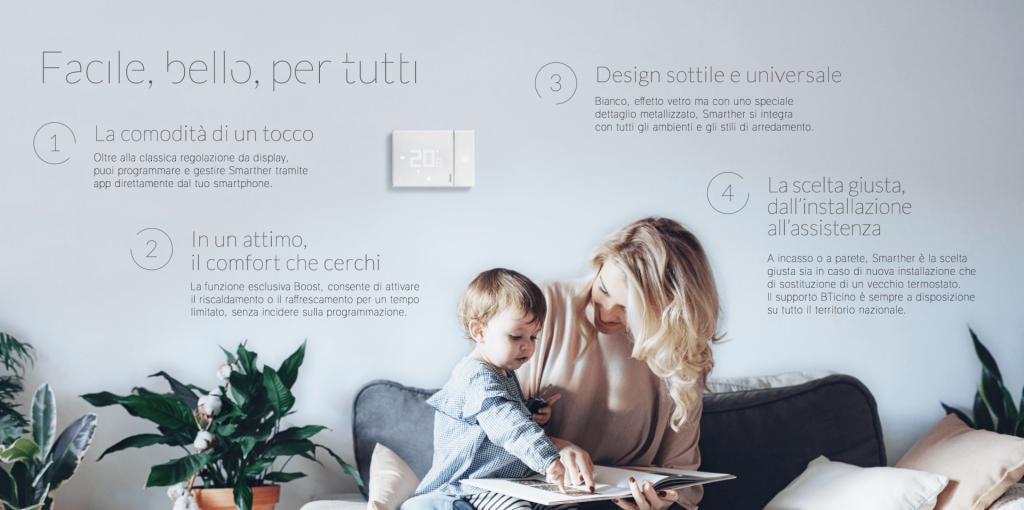 Funzionalità e prerogative degli accessori per la Smart home di BTicino