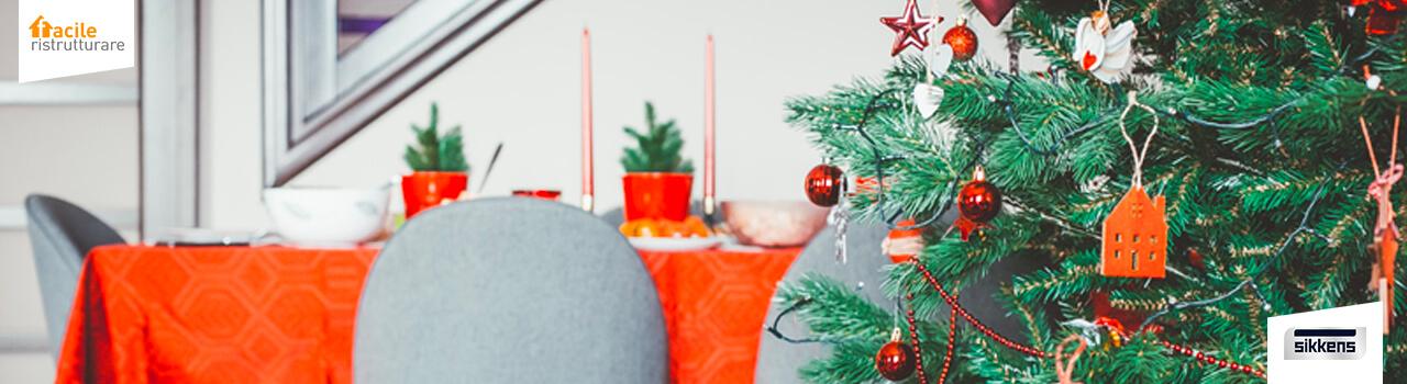 Macchie sui muri da feste natalizie? Risolvi con Alpha Rezisto Sikkens!