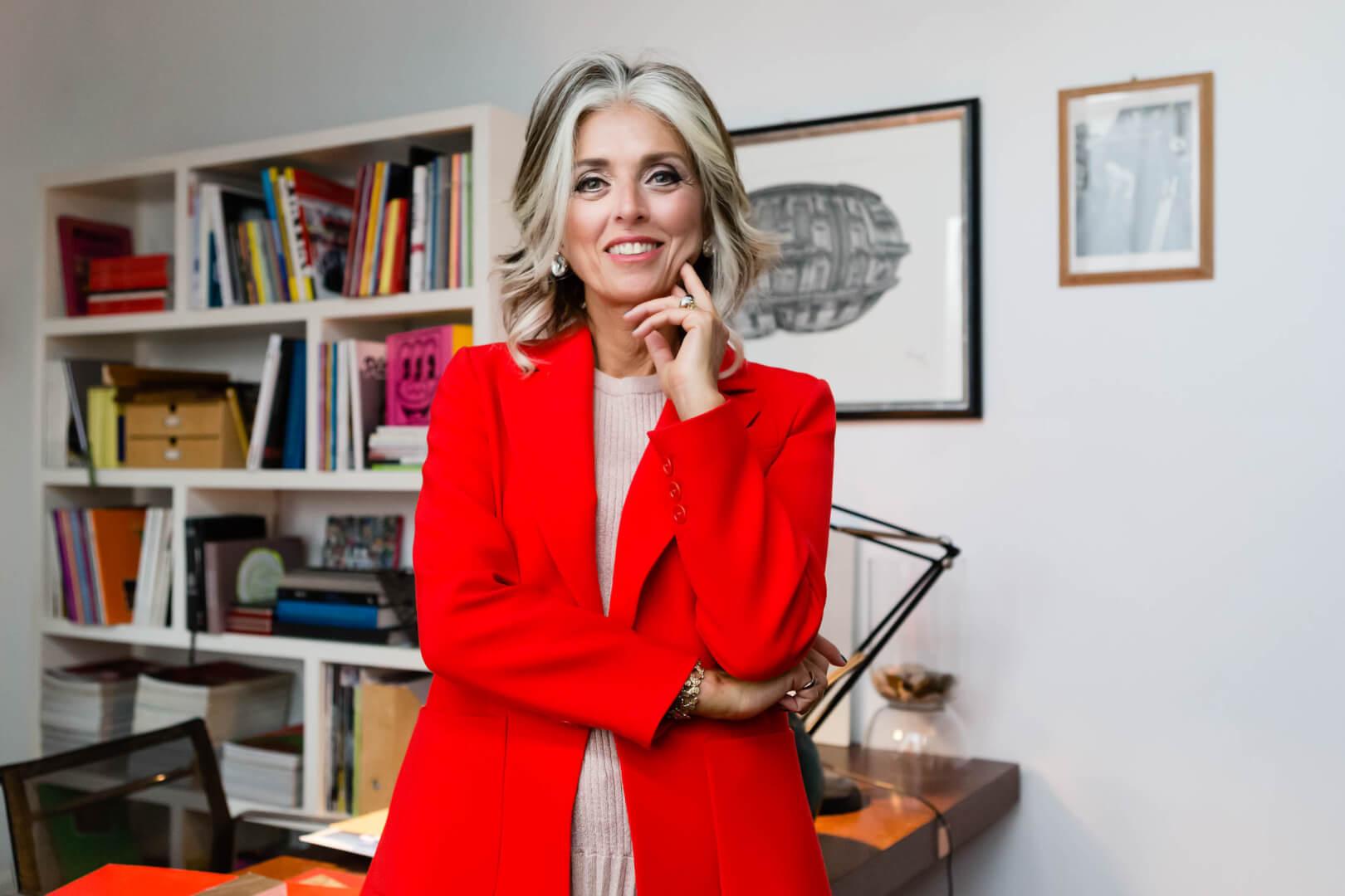 La conduttrice TV ed esperta mediatrice immobiliare, Paola Marella