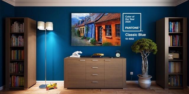 Colori Pantone 2020 per decorare le pareti di casa