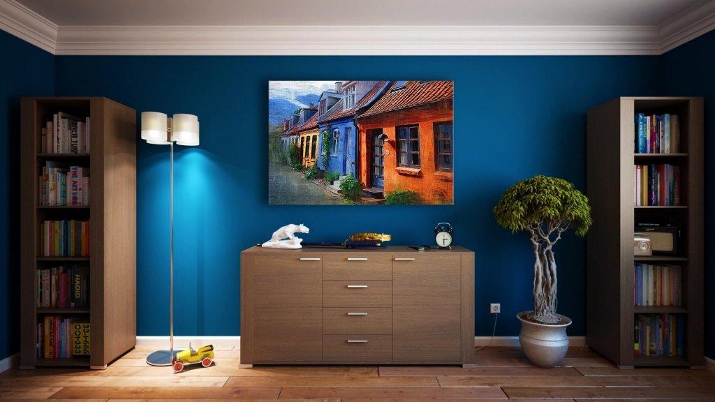 Abbinare i colori delle pareti tinteggiate osservando una struttura diegetica