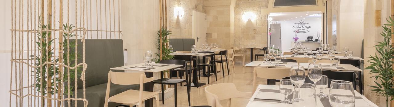 Ristrutturazione ristorante di 120 mq a Lecce