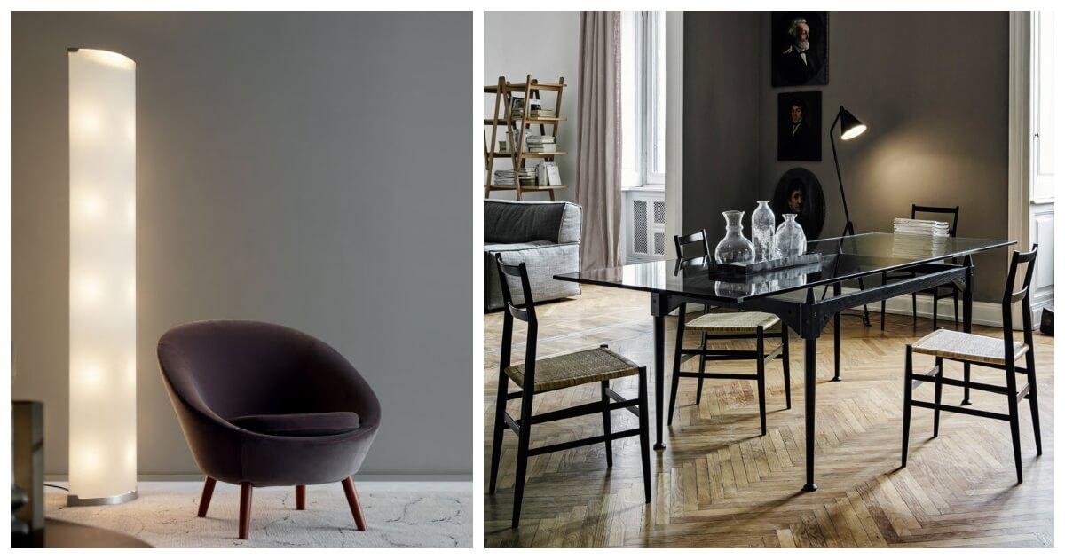 Leggera, la sedia disegnata da Gio Ponti per Cassina, tuttora utilizzata nell'arredo classico quanto in quello moderno