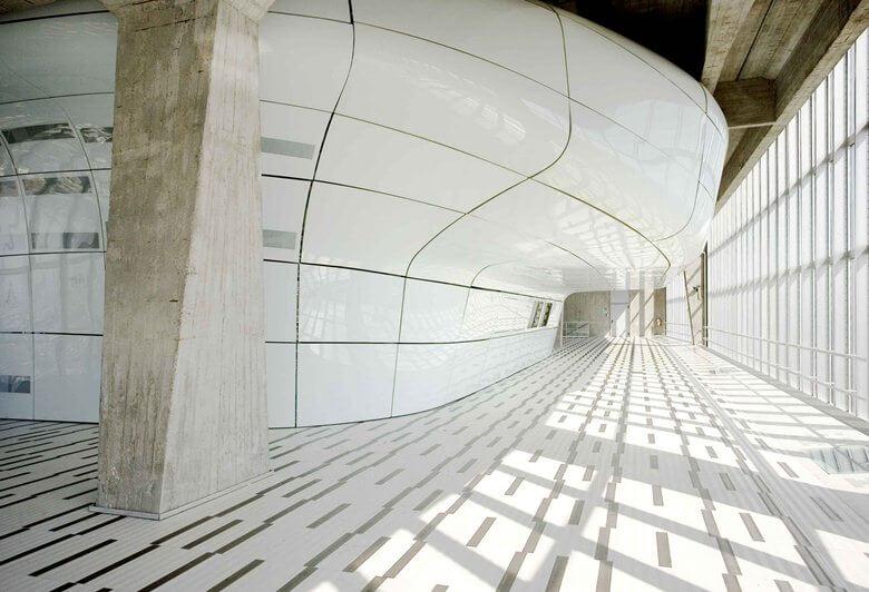 Gio Ponti e le sue strutture ancora estremamente moderne e di tendenza