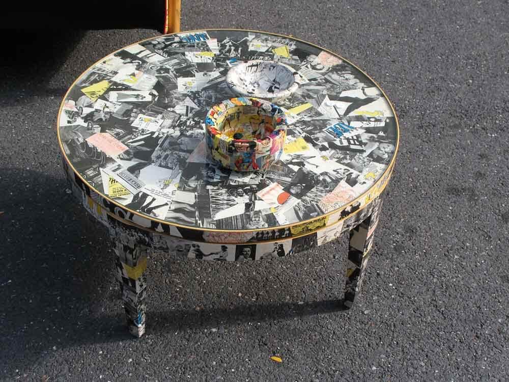 Rivestire i mobili vecchi per dargli nuova luce e splendore con un tocco di design e fantasia