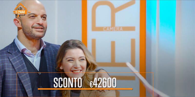 A te le chiavi il programma TV sponsorizzato da Facile Ristrutturare regala 42600 euro di sconto
