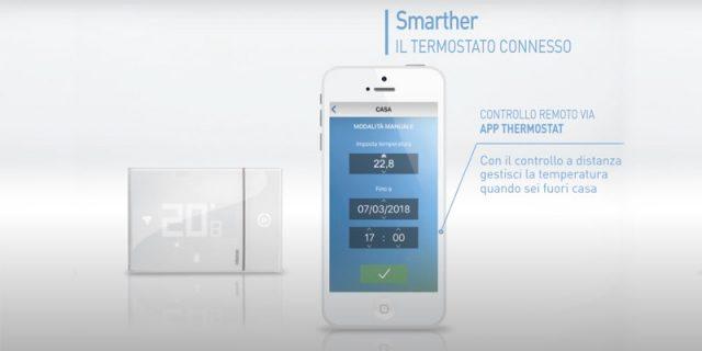 termostato smart btcino google home, alexa, home kit
